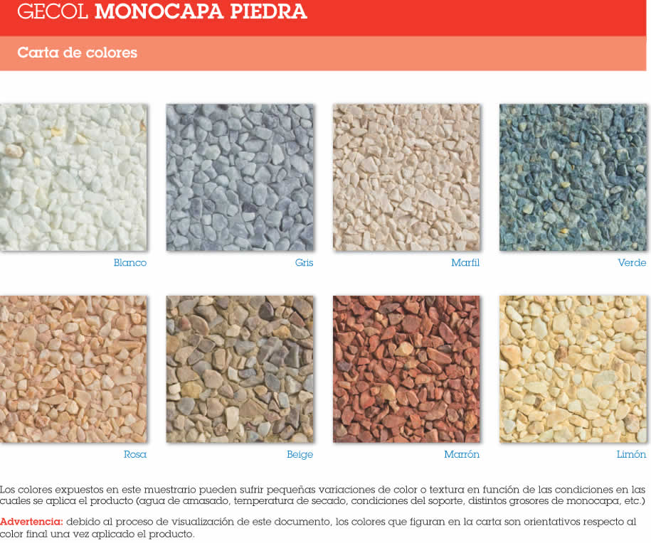 Materiales de construccion madrid - Mortero monocapa colores ...